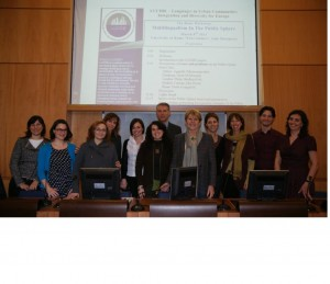 Foto Multilinguism in the Public sphere- Rome 2013