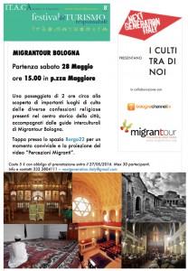 migrantour bologna 28 maggio