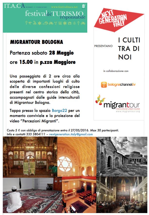 28 maggio, Bologna: i culti tra di noi