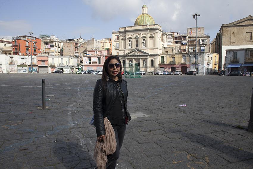 Jomahe accompagnatore interculturale  Migrantour Napoli
