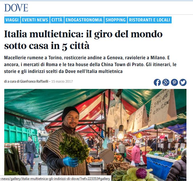 Migrantour e Italia multietnica su Dove!