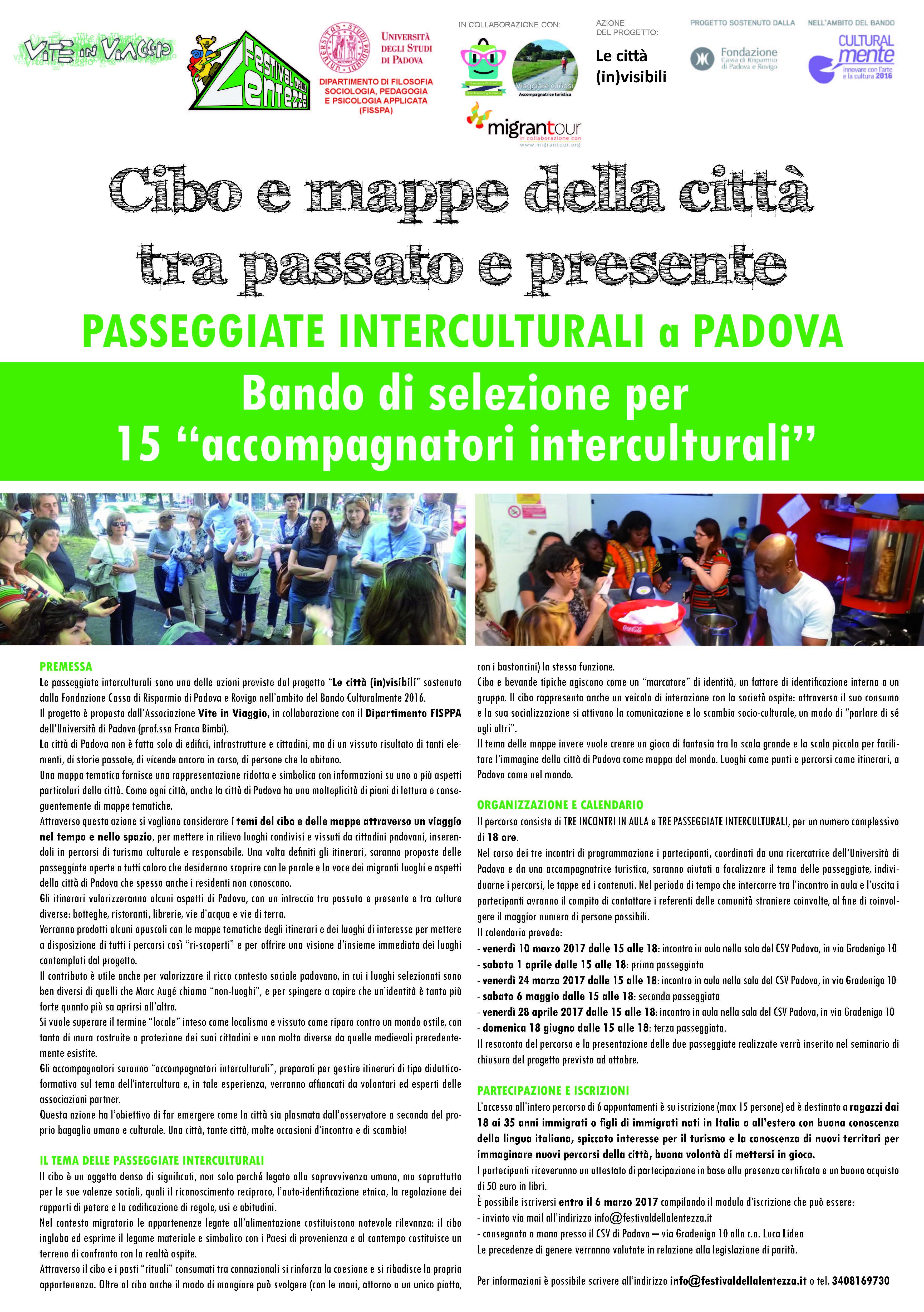Migrantour arriva a Padova con il Festival della Lentezza!