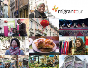 NEW ROOTS: Migrantour intercultural walks building bridges for newcomers' active participation