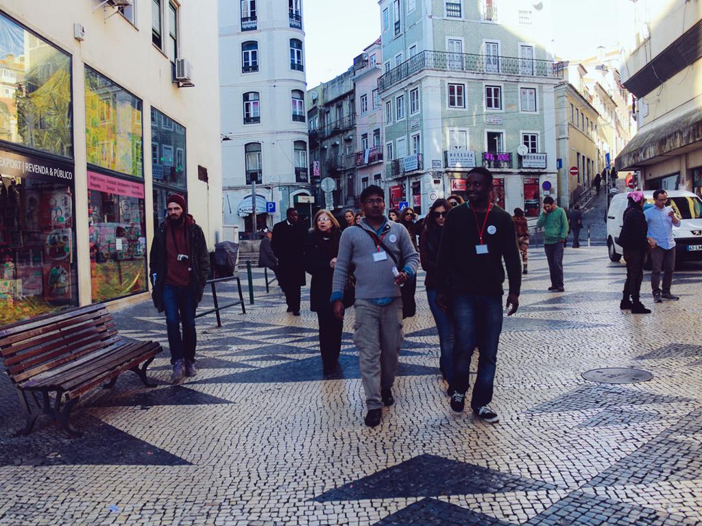 Lançamento das Rotas Urbanas Interculturais em Lisboa