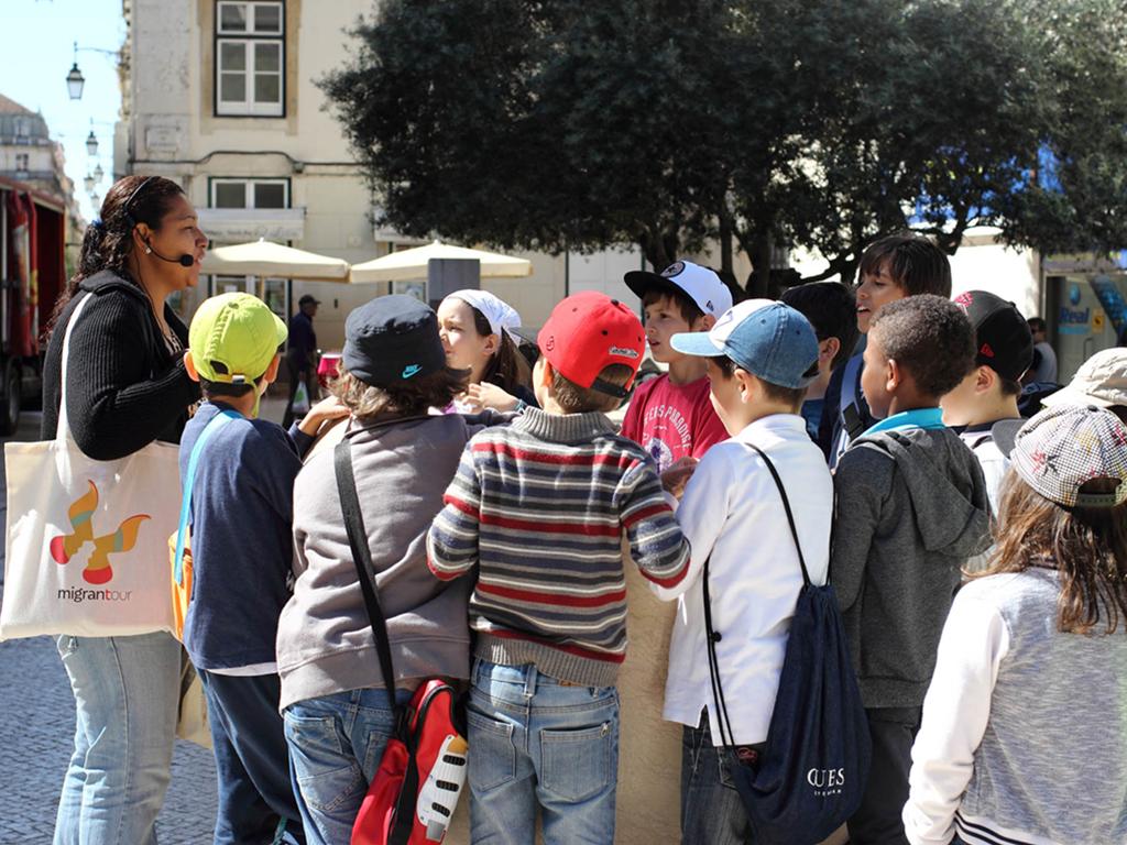 O Migrantour de Lisboa chegou às escolas